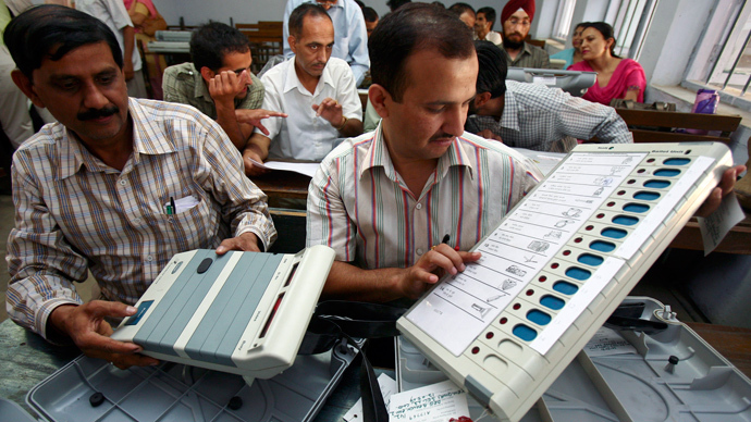 'Vote for us or be electro-shocked!' Indian politician accused of scaring people over voting machines