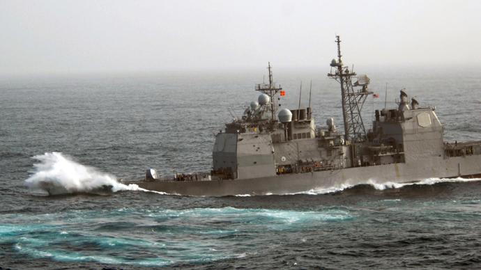 USS Chancellorsville (AFP Photo / US NAVY)