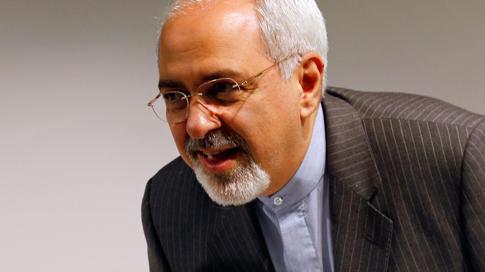 Iranian Foreign Minister Mohammad Javad Zarif (Reuters / Denis Balibouse)