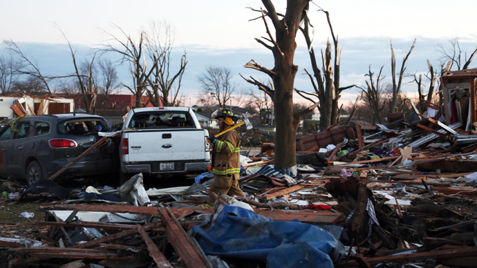 Mayflower Arkansas devastation: Deadly tornado destroys everything in its path