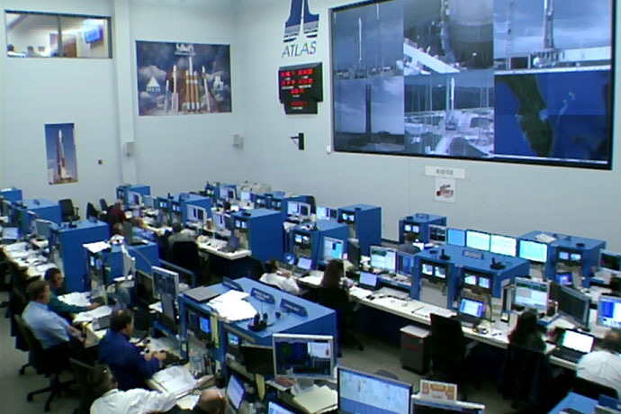 Nov. 18, 2013, In the Launch Control Center at Cape Canaveral Air Force Station in Florida, agency and contractor managers and engineers monitor progress in the countdown to launch the Mars Atmosphere and Volatile Evolution, or MAVEN, spacecraft atop an Atlas V rocket. (Image credit: NASA)