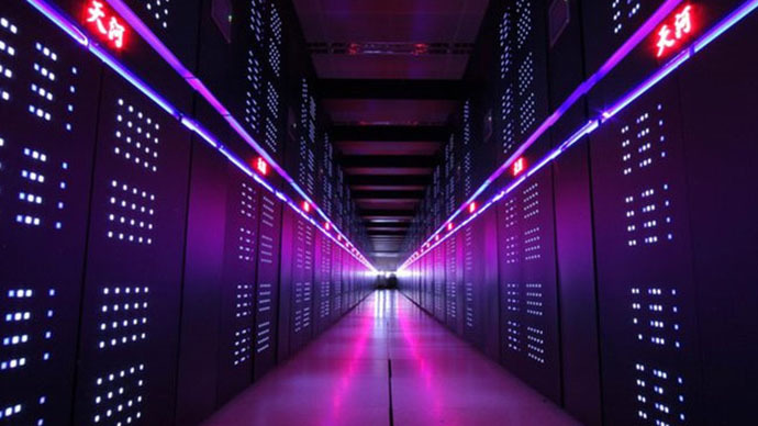 Chinese supercomputer twice as fast as closest US rival