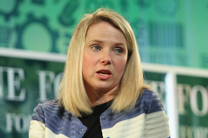 Yahoo CEO Marissa Mayer (AFP Photo / Paul Morigi)