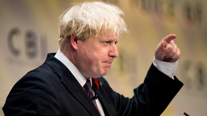 London Mayor, Boris Johnson.(AFP Photo / Leon Neal)
