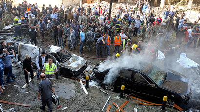 Iran blames Israel for Beirut blasts as Al-Qaeda offshoot lays claim