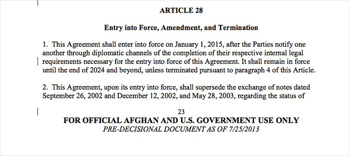 US troops could stay in Afghanistan until 2024   security pact screen shot 2013 11 19 at 22.04.02
