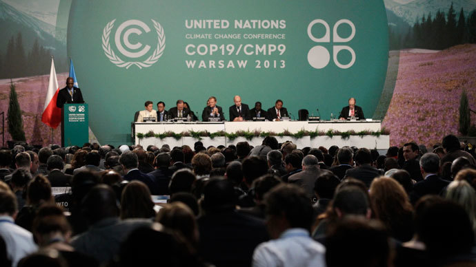 133 countries walk out of UN climate meeting over global warming compensation row