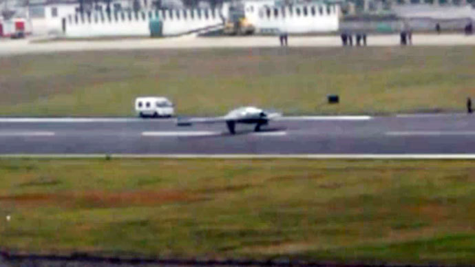 China's first stealth combat drone takes maiden flight - reports