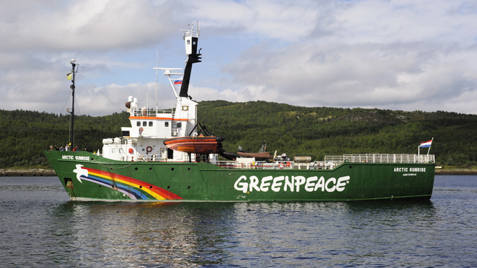 Russia dismisses intl tribunal ruling on Greenpeace's Arctic Sunrise ship and crew