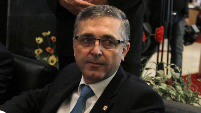 : Syrian Minister of State for National Reconciliation Affairs, Ali Haidar (AFP Photo / Atta Kenare)