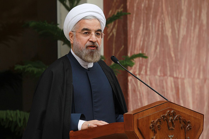 Hassan Rouhani (AFP Photo / HO / Iranian Presidency)