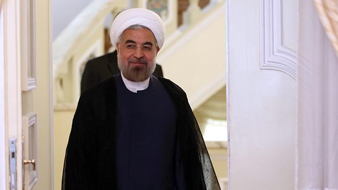 Iranian President Hassan Rouhani (AFP Photo / Atta Kenare)