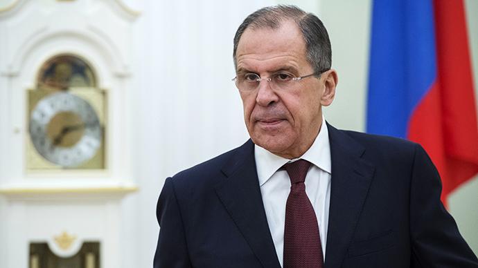 Russian Foreign Minister Sergei Lavrov (RIA Novosti / Sergey Guneev)
