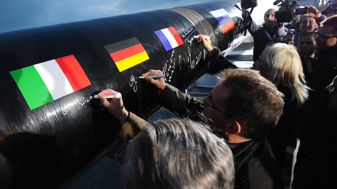 EU gives Gazprom preliminary 'OK' for South Stream gas pipeline