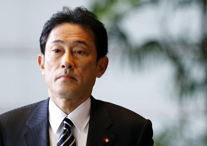 Japan's Foreign Minister Fumio Kishida (Reuters/Kim Kyung-Hoon)