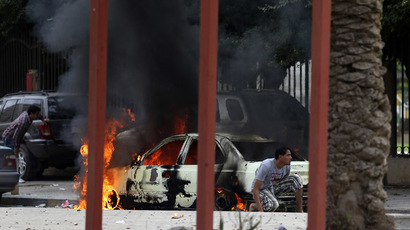 Several wounded after grenade blast hits Libyan TV channel