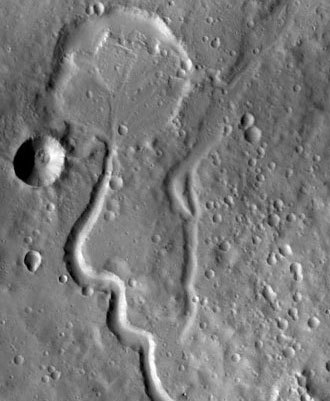 Nanedi Valles.(Photo from nasa.gov)