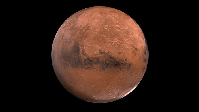 Mystery greenhouse gas warmed Mars making water flow 3.8bln years ago - study