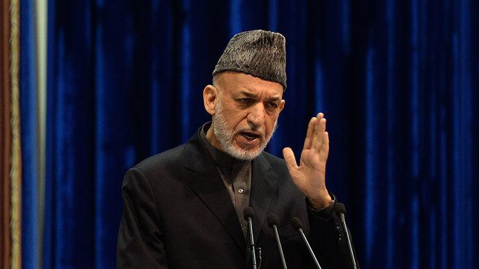 Afghan President Hamid Karzai.(AFP Photo / Massoud Hossaini)
