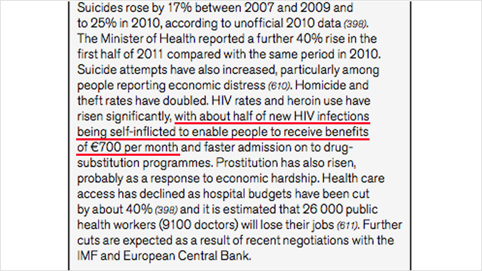 A screenshot from the WHO report 'Review of Social Determinants and the Health Divide in the WHO European Region'