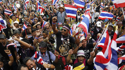 Thai protesters capture army HQ in countrywide anti-government protests