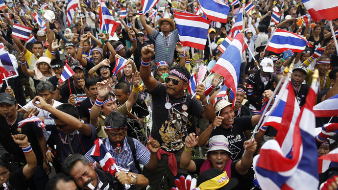 Thai protesters besiege 4 more ministerial buildings seeking govt ouster