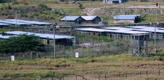 A view of Camp X-Ray in Guantanamo Bay U.S. Naval Base (Reuters/Deborah Gembara)