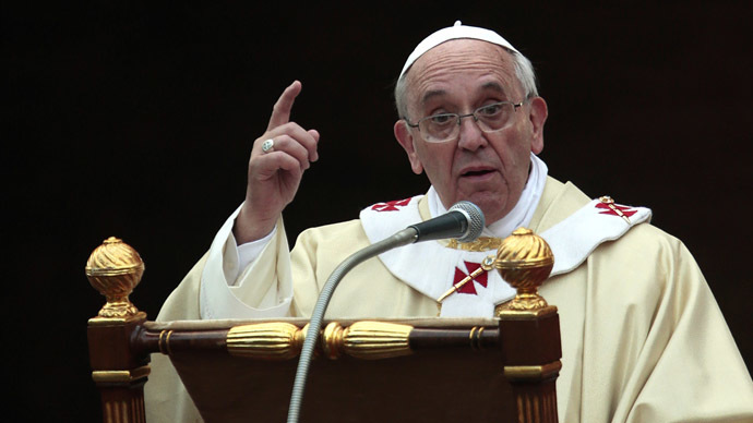 'Not to share wealth with poor is to steal': Pope slams capitalism as 'new tyranny'