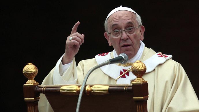 Pope Francis (Reuters/Giampiero Sposito)