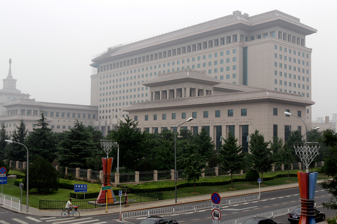 Chinese Defense Ministry's Bayi Building in Beijing (Reuters / Jason Lee)