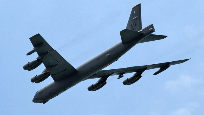 US B-52 bombers snub China air defense zone, fly over disputed islands