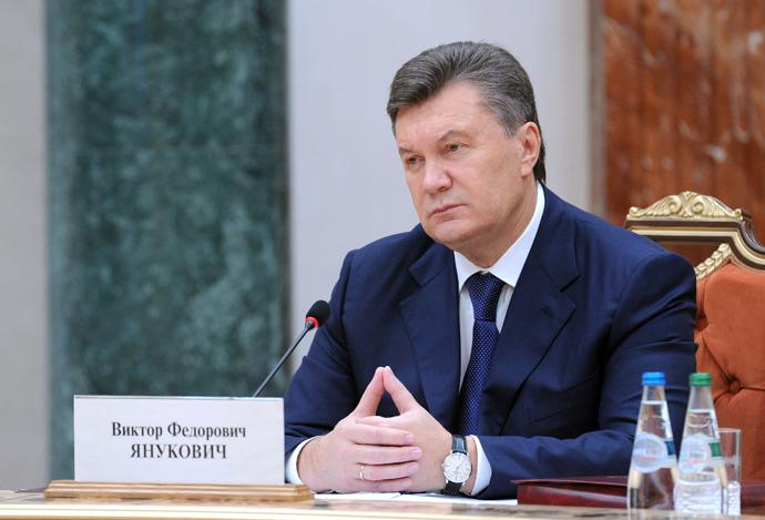 Ukrainian President Viktor Yanukovych (RIA Novosti / Michael Klimentyev)
