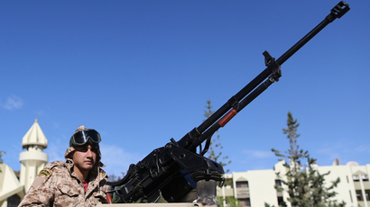 Libyan govt launches military operation against oil trafficking rebels