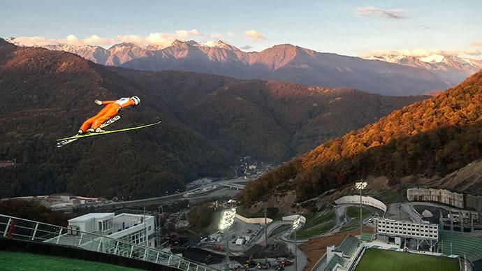 Sochi ski jump venue fully ready for 2014 Winter Olympics