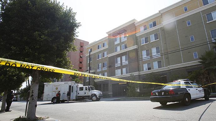 Police officer shot in LA area, gunmen surrenders after hostage standoff