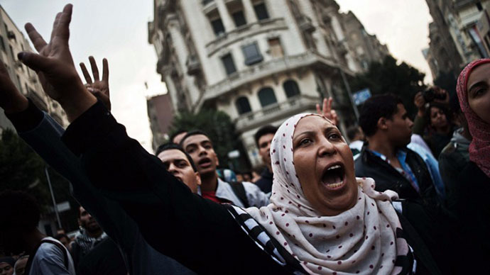 UN 'seriously concerned' over Egypt's crackdown on dissent