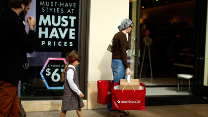 Back in Black: Buy Nothing Day protests post-Thanksgiving day shopping binge