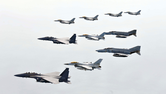 South Korean air Force fighter planes (Reuters / South Korean air force / Handout)