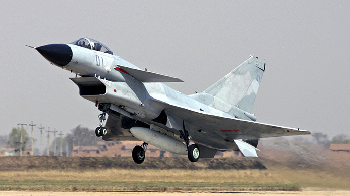 China sends warplanes to newly established air defense zone