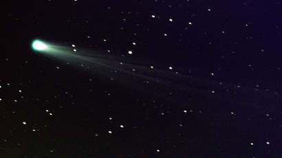 Robot spaceship wakes up to harpoon comet in 'Moby-Dick' style hunt through space