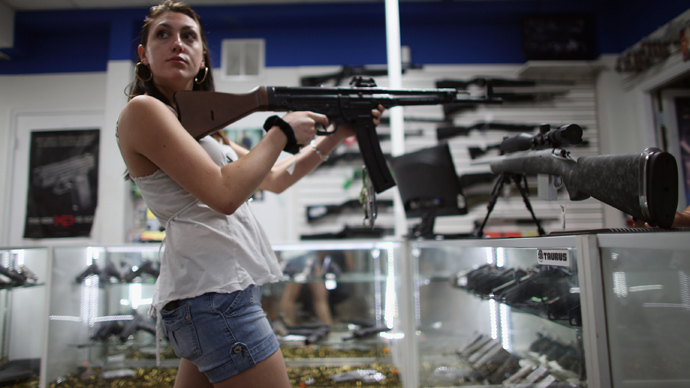 Guns for Black Friday: New American tradition
