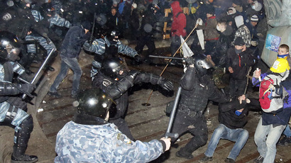 Clashes in Kiev amid massive pro-EU protests: LIVE UPDATES (Part 1)