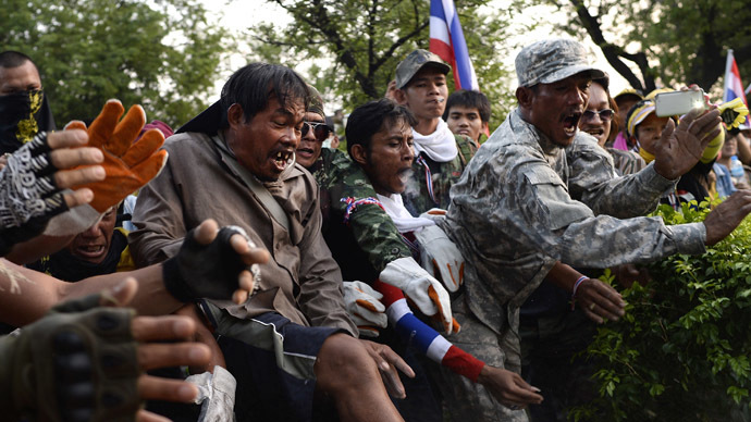 Thai police crackdown on protesters as government rejects their demands (PHOTOS)