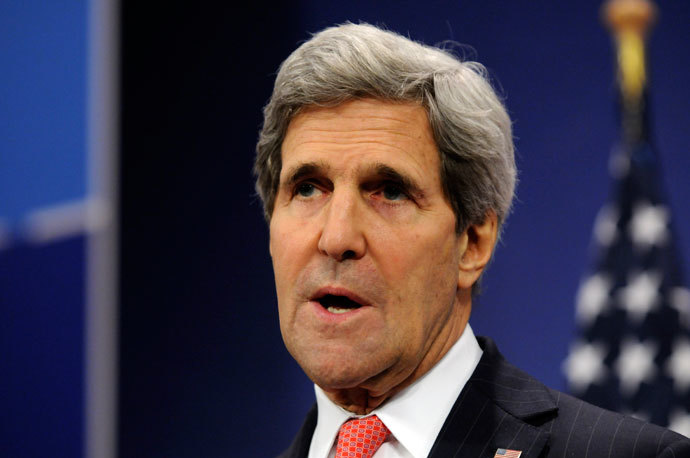 US Secretary of State John Kerry.(AFP Photo / Thierry Charlier)