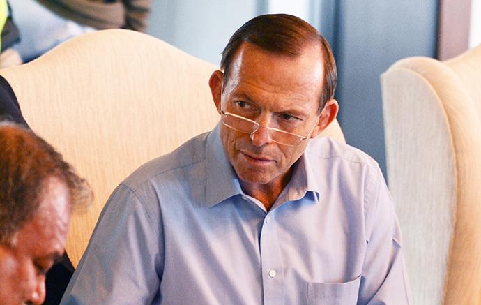 Australian Prime Minister Tony Abbott (AFP Photo / Roberto Schmidt)