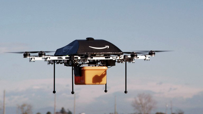 Amazon plans drone delivery to US customers