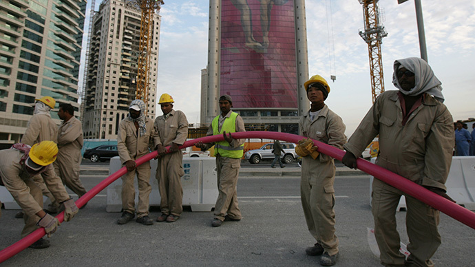 'Modern slavery': Intl delegation decries migrant rights abuses in Qatar