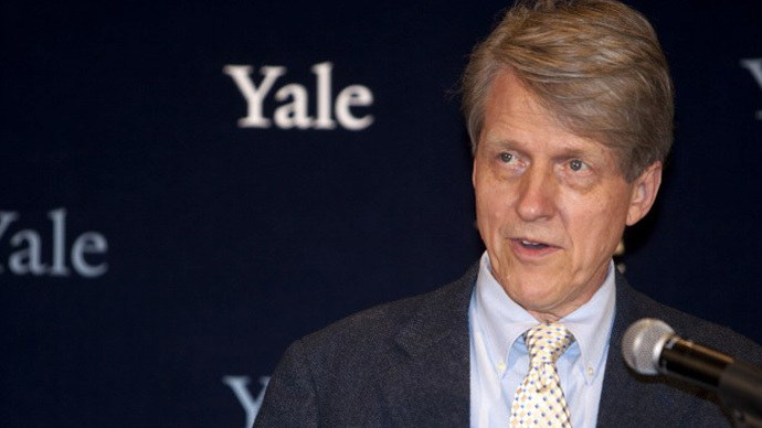 Robert Shiller, winner of the Nobel Prize in Economics (AFP Photo / Wendy Carlson)