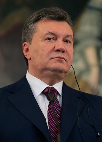 Ukrainian President Viktor Yanukovych (AFP Photo / Alexander Klein)