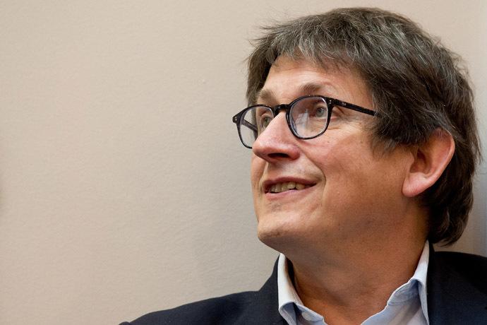 Guardian's editor-in-chief Alan Rusbridger. (AFP Photo/Leon Neal)